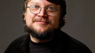Who has two thumbs and is going to see Guillermo del Toro in a month?