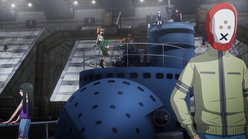 Arpeggio of Blue Steel is an Imaginative Sci-Fi High Seas Adventure