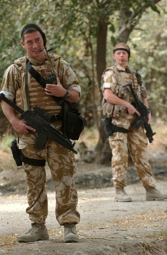 Even Army Uniforms Aren't Working in the Middle East