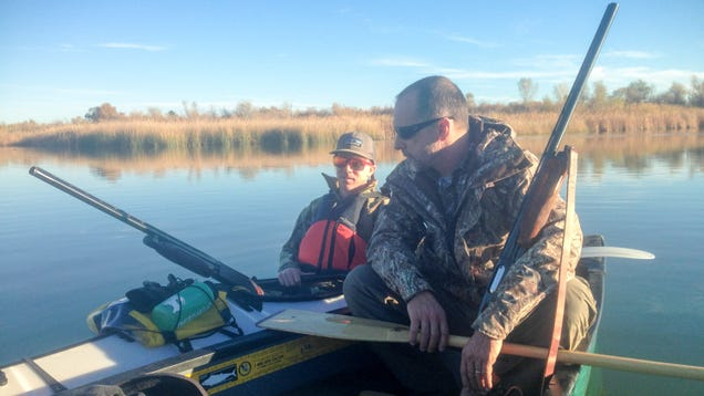 Hunting Ducks from a Folding Kayak