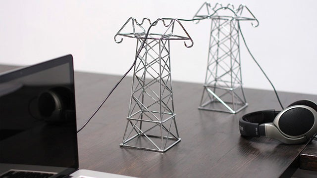 Tiny Transmission Towers Tidy Tethered Toys