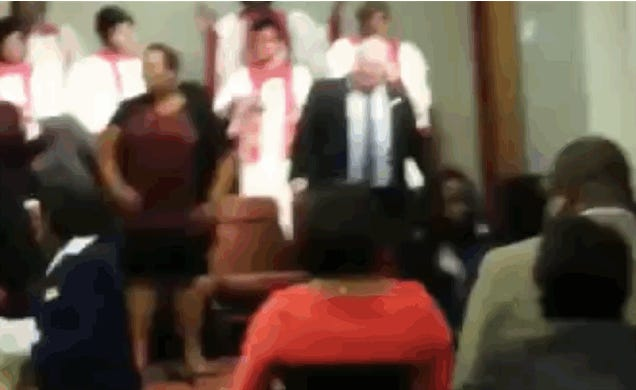 Rob Ford Goes to Church