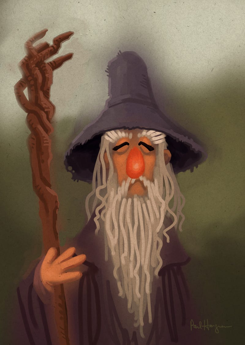 Finally, the Lord Of The Rings/Muppet Crossover You've Been Dreaming Of!