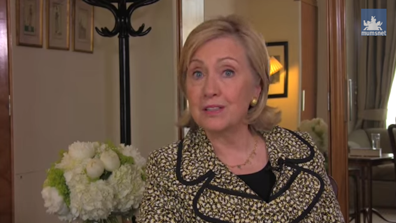Hillary Clinton Says She Asked to Be Removed From Child Rape Case