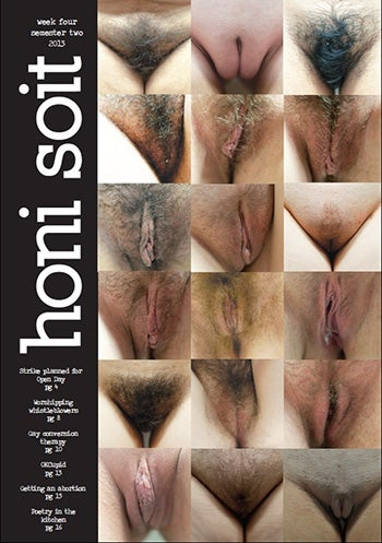 Student Mag Censored for Featuring 18 Different Vaginas on Cover [NSFW]