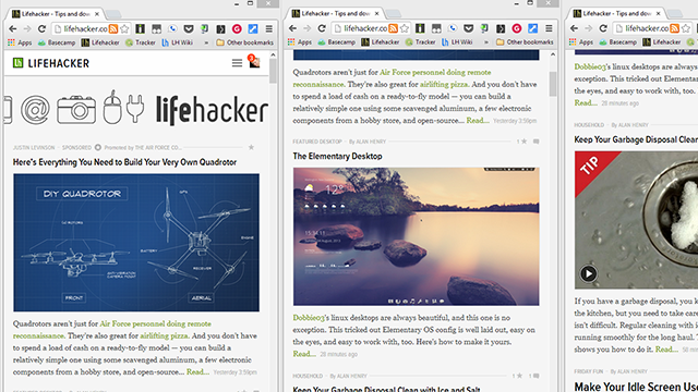 Tab Resize Automatically Organizes Tabs Into Preset Layouts