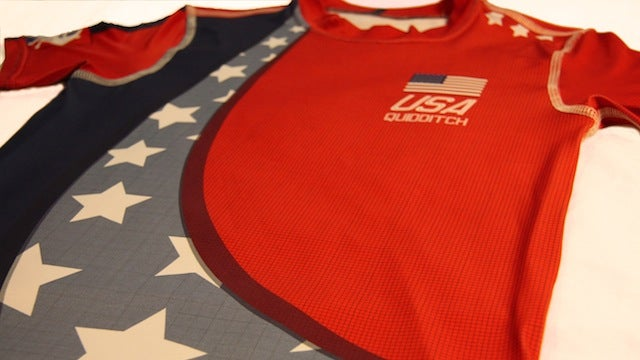 Prepare for the Quidditch World Cup with these national team jerseys
