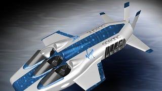 First Render of Richard Branson's Underwater Plane