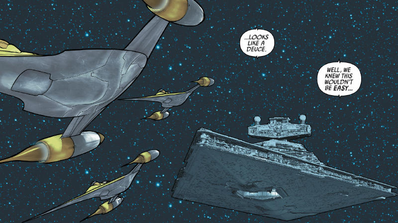 Shattered Empire Is Blending Star Wars Old And New In Some Interesting Ways