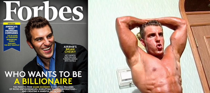 For $35, You Can Own a DVD of Airbnb's CEO in a Bodybuilding Contest