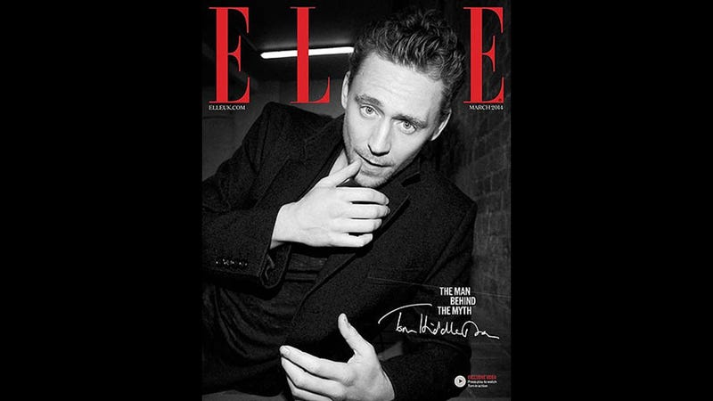 Tom Hiddleston Touches His Lip and Talks About Loving Strong Women (!)