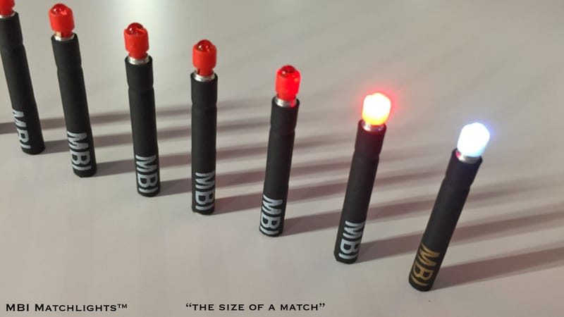 A Matchbook Full of Tiny Disposable Flashlights Is a Brilliant Emergency Tool