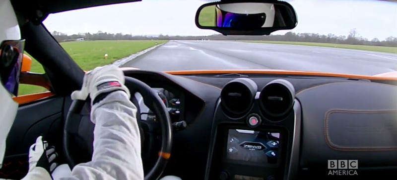 The Stig's Lap In The Zenvo ST-1 Is A Little Terrifying