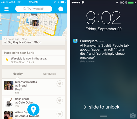 Where In the World Are Foursquare's Users? Outside the U.S.