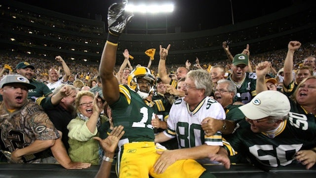 This Evening: Welcome To Green Bay, Randall Cobb. How About A Handjob?
