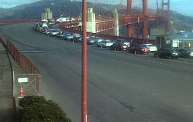 Motorcycle Crash Closes Golden Gate Bridge In Both Directions