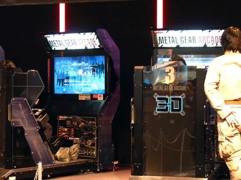 Up Close With Metal Gear Arcade