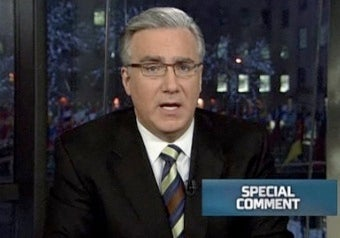 Keith Olbermann Says He Didn't Know About Donations Rule