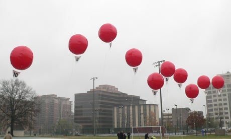DARPA's Balloon Challenge Over After Nine Hours