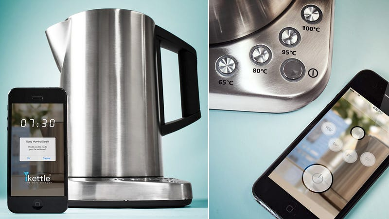 A Wi-Fi Kettle That Messages Instead of Whistling When It Boils