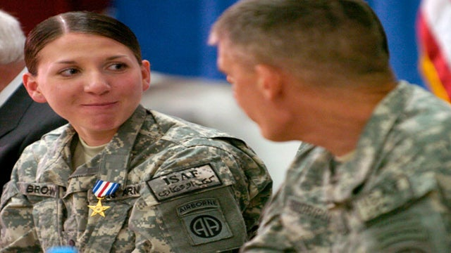 Majority Want Women In Combat