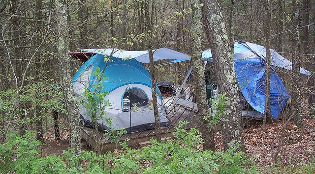 Michigan Campground Reopened Either Illegally or Magically