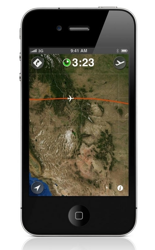 iPhone App Tracks Your Own Flight Without Network Connection