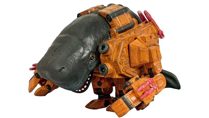 These Whale Mech Toys Give Us an Excuse To Post the Most Amazingly Insane Cartoon We've Ever Seen