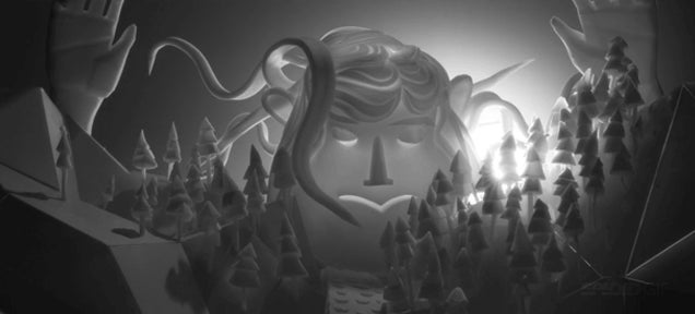 Gorgeous short seems like 3D animation but it's made with styrofoam