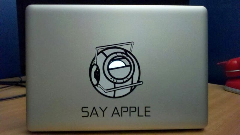 Portal 2 Decal Is Making Me Rethink My Awesome Snow White One