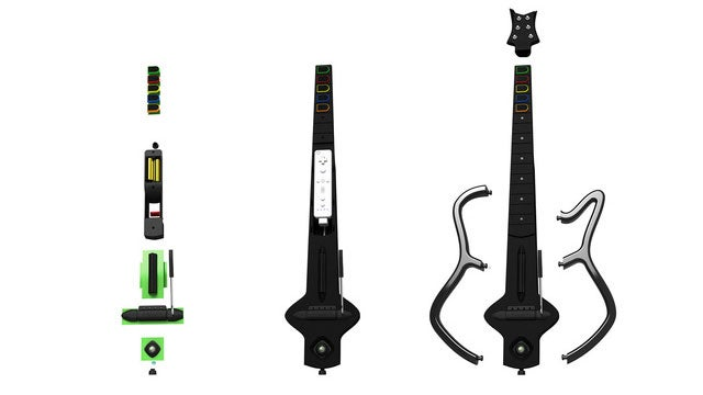 Ever Wonder What's Inside a Guitar Hero Guitar?