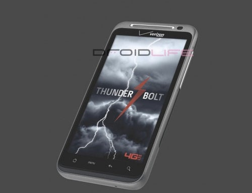 HTC's 4G Thunderbolt Phone Could Be Dual-Core With 1080p