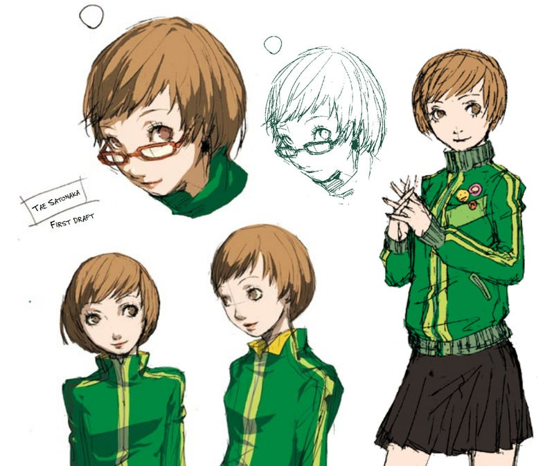 Exclusive: The Art of Persona 4