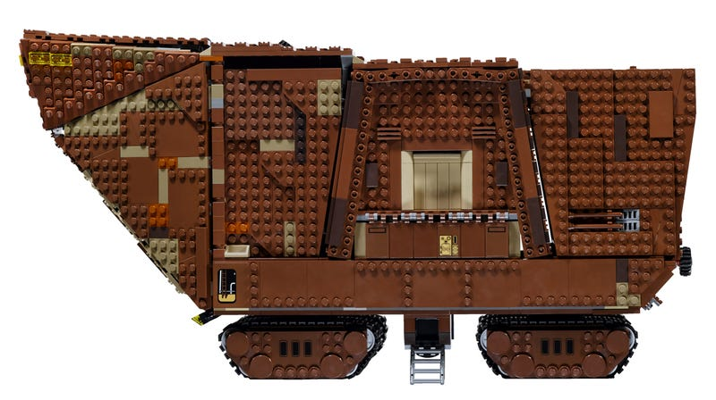 This is the 3,296-piece Lego Star Wars Sandcrawler you were looking for
