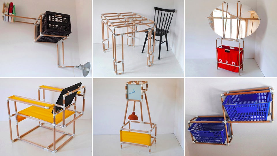 Design Your Own Furniture With This Domesticated Building Set