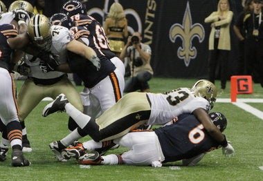 By One Measure, The Saints Were The Most Violent Team In 2011