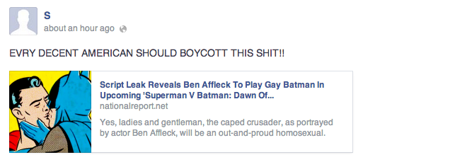 Homophobes Freak Out Over Gay Batman Rumor