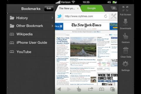 Dolphin Browser App Gallery
