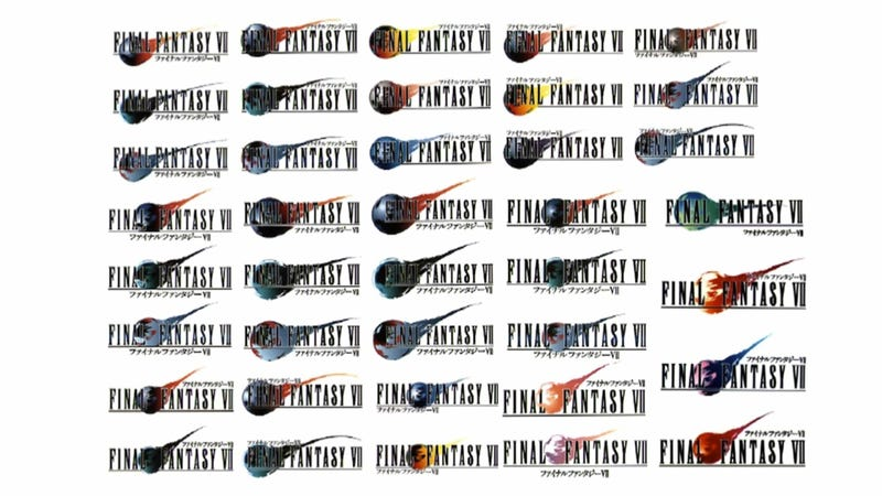 Which of These Final Fantasy VII Logos Is Best?
