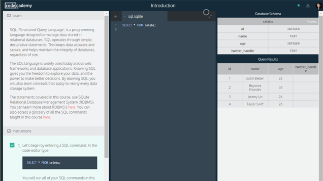 Learn SQL with This Free Three-Hour Course from Codecademy
