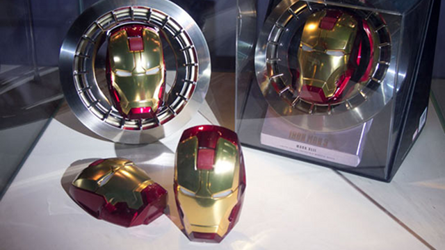 This Iron Man Mouse Puts Tony Stark's Head in Your Hand