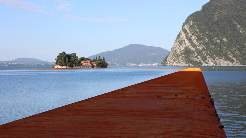 This Floating Walkway Is Christo's First Truly Important Work of Art