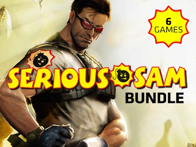 Get 75% Off The Serious Sam Gamer Bundle