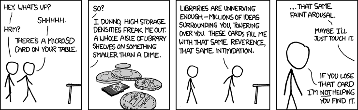The Sensual Allure of High Density Storage