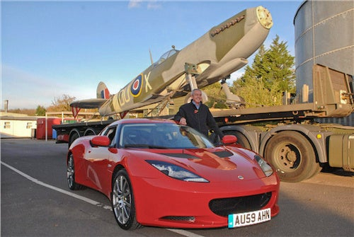 Lotus Attempts To Merge Jalopnik, Planelopnik By Repairing Supermarine Spitfire