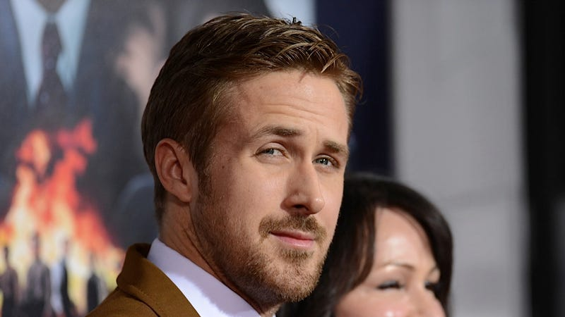 Kindness Cyborg Ryan Gosling Handed Out Girl Scout Cookies to Delighted Strangers