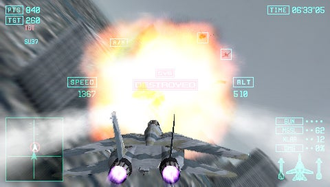 Ace Combat Returns To The PSP