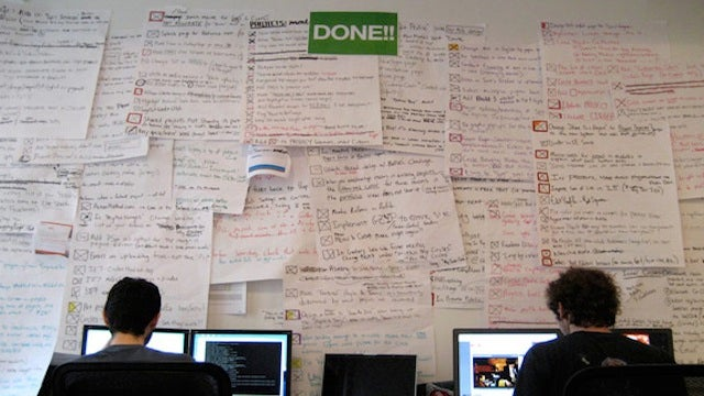 "Keep Your Completed To-Do Lists On a ""Done"" Wall to Stay Motivated"