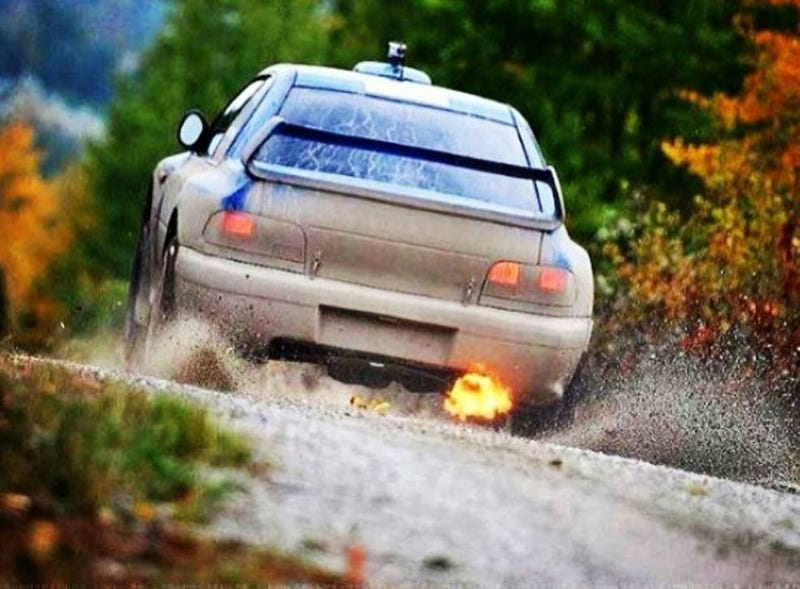 Voice of WRC @ Oregon Trail Rally 14'