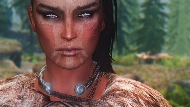 More Incredible Faces Of Skyrim
